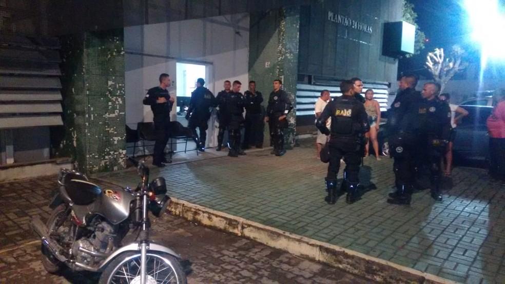 Suspeito foi encaminhado para o Complexo de Delegacias Especializadas. — Foto: Ricardo Mota