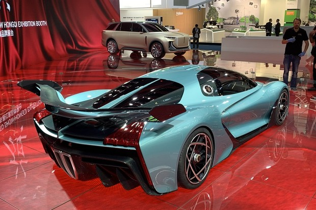 Hongqi S9 Concept (Foto: Raphael Panaro/Autoesporte)
