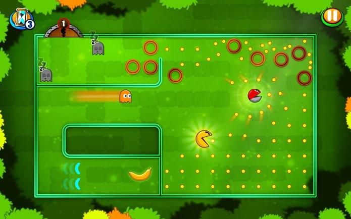 Novo jogo do Pac-Man tem jogabilidade diferente e original (Foto: Divulgação)