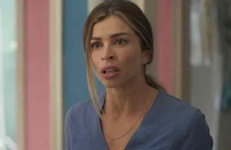 Na quinta-feira (19), Paloma (Grazi Massafera) ficará desesperada ao não encontrar Elias em casa TV Globo