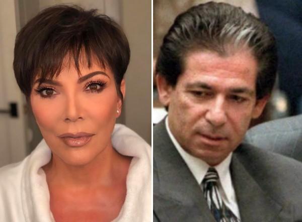 A socialite Kris Jenner e o advogado e empresário Robert Kardashian (1944-2003) (Foto: Instagram/Getty Images)