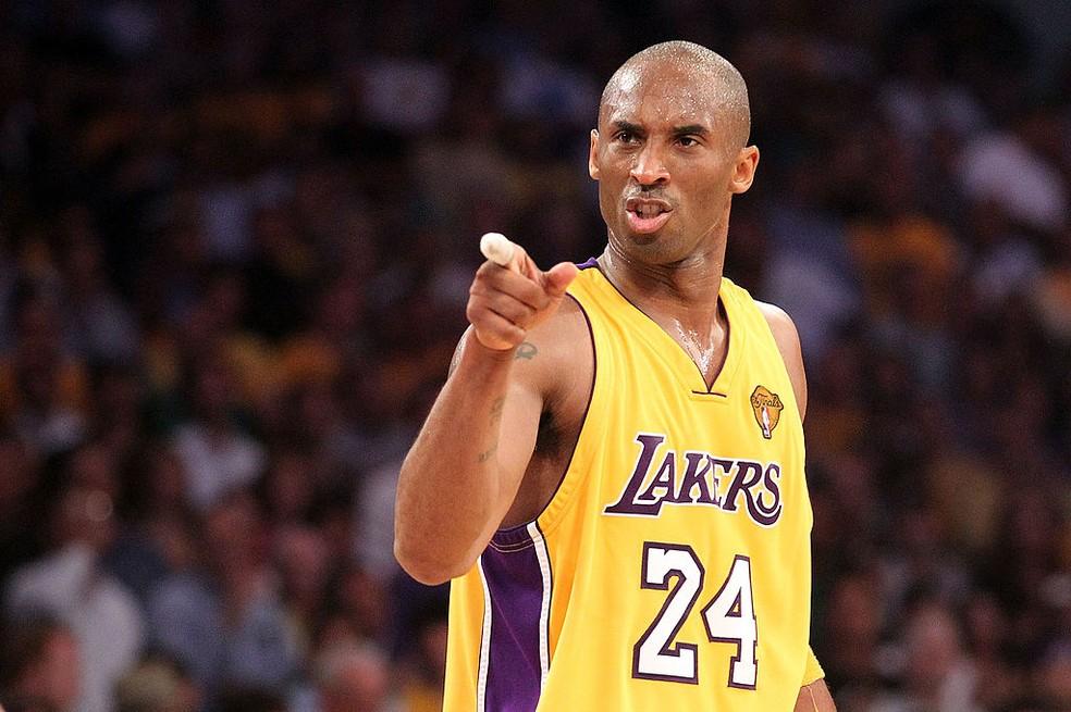 Morte de Kobe Bryant motivou criação de lei — Foto: Ronald Martinez/Getty Images