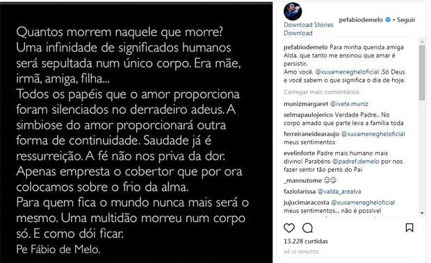 Padre Fábio de Melo (Foto: Reprodução/Instagram)