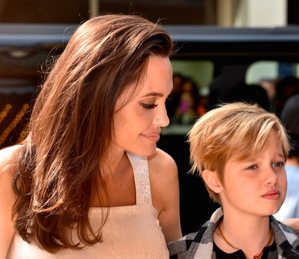 The hollywood actress Angelina Jolie with daughter Shiloh (photo: Getty Images)