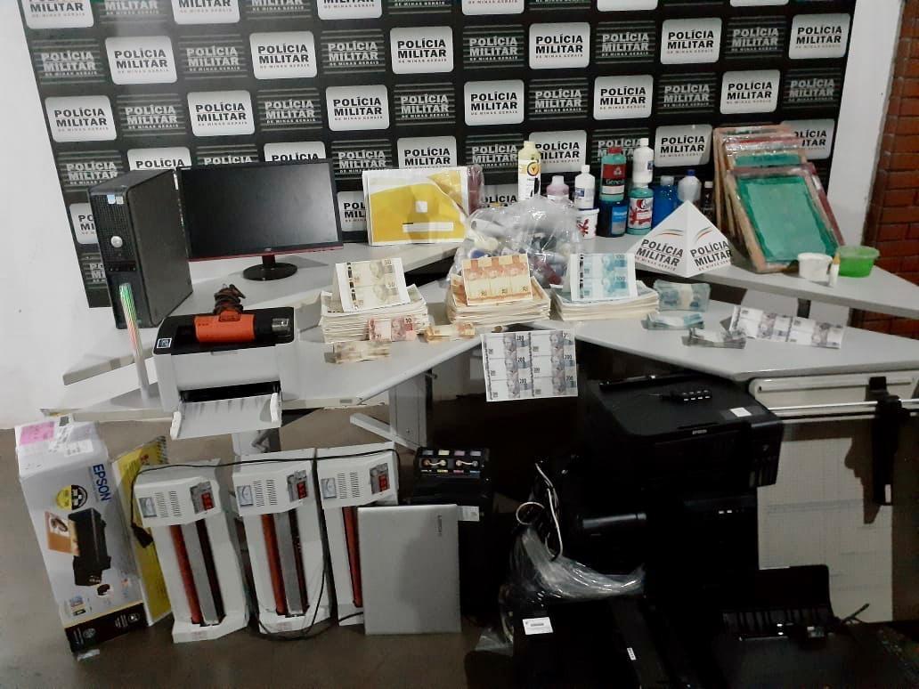 MPF denuncia quadrilha que fabricava dinheiro falso em Ituiutaba; cerca de R$ 500 mil foram apreendidos