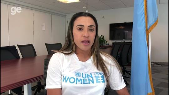 """Símbolo de luta por igualdade de gênero na ONU, Marta reforça: """"Não quero ser a única"""""""