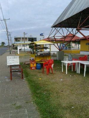 Caso ocorreu em um lanche localizado na praça de Pacaraima (Foto: Arquivo Pessoal)