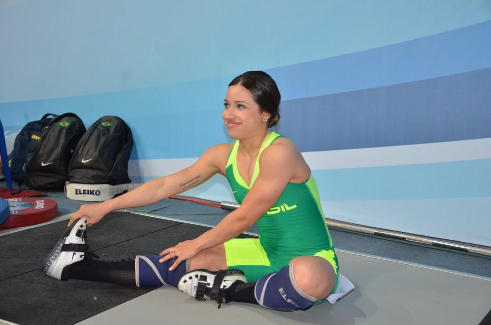 Luana Madeira Mundial Júnior de Levantamento de Peso (Foto: Divulgação/CBLP)