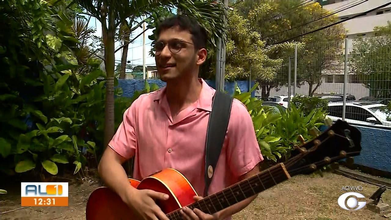 Tenda das artes do AL1 recebe o cantor Ícaro Padilha