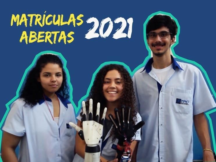 ETPC abre matrículas para 2021 para Ensino Médio com Cursos Técnicos