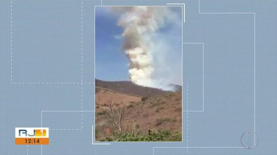 Incêndio em São Fidélis é controlado após quatro dias