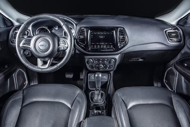 Comparativos dos SUVs - Jeep Renegade e Compass (Foto: Fabio Aro)