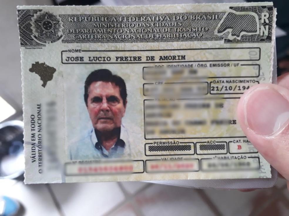 José Lúcio Freire de Amorim tinha 77 anos (Foto: Marksuel Figueredo/Inter TV Cabugi)