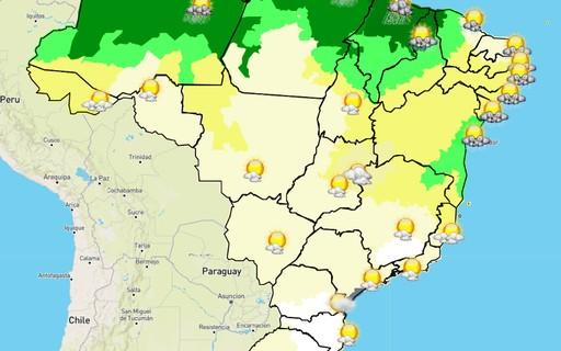 Semana começa com frio e previsão de geadas para o Sul do Brasil