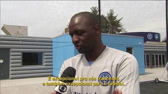 Papo de Copa: Patrick Vieira revive sonho de vencer Brasil duas vezes