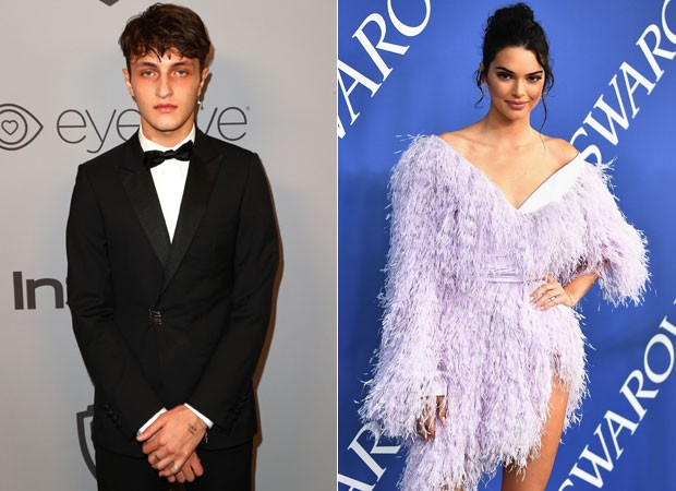 Kendall Jenner e Anwar Hadid (Foto: Getty Images)