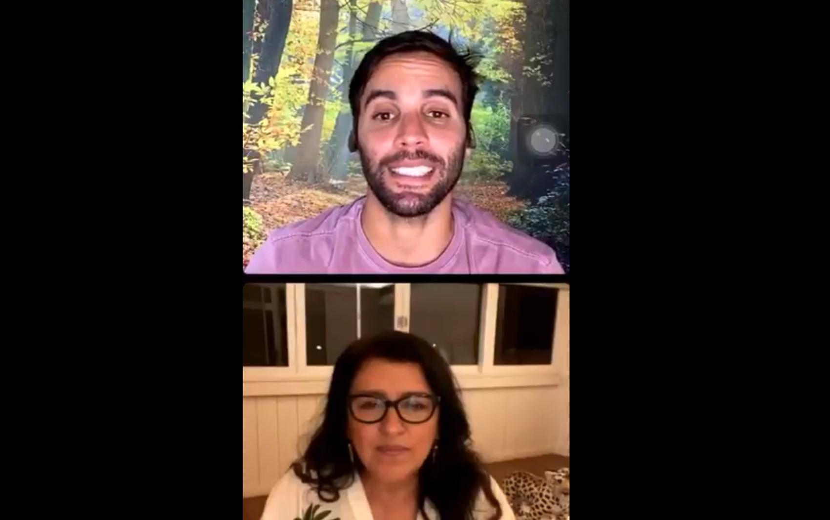 Durante live com Regina Casé, marido de Ivete Sangalo revela infecção por Covid-19 na família: 'Todos nós aqui pegamos'