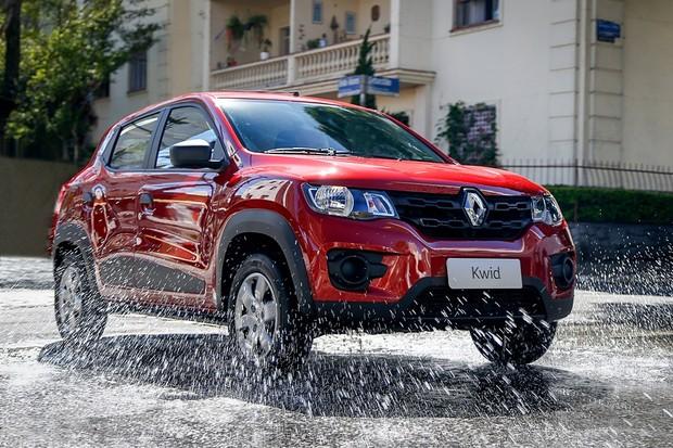 Renault Kwid. Foto: Rodolfo Buhrer / La Imagem / Renault (Foto: Divulgação)