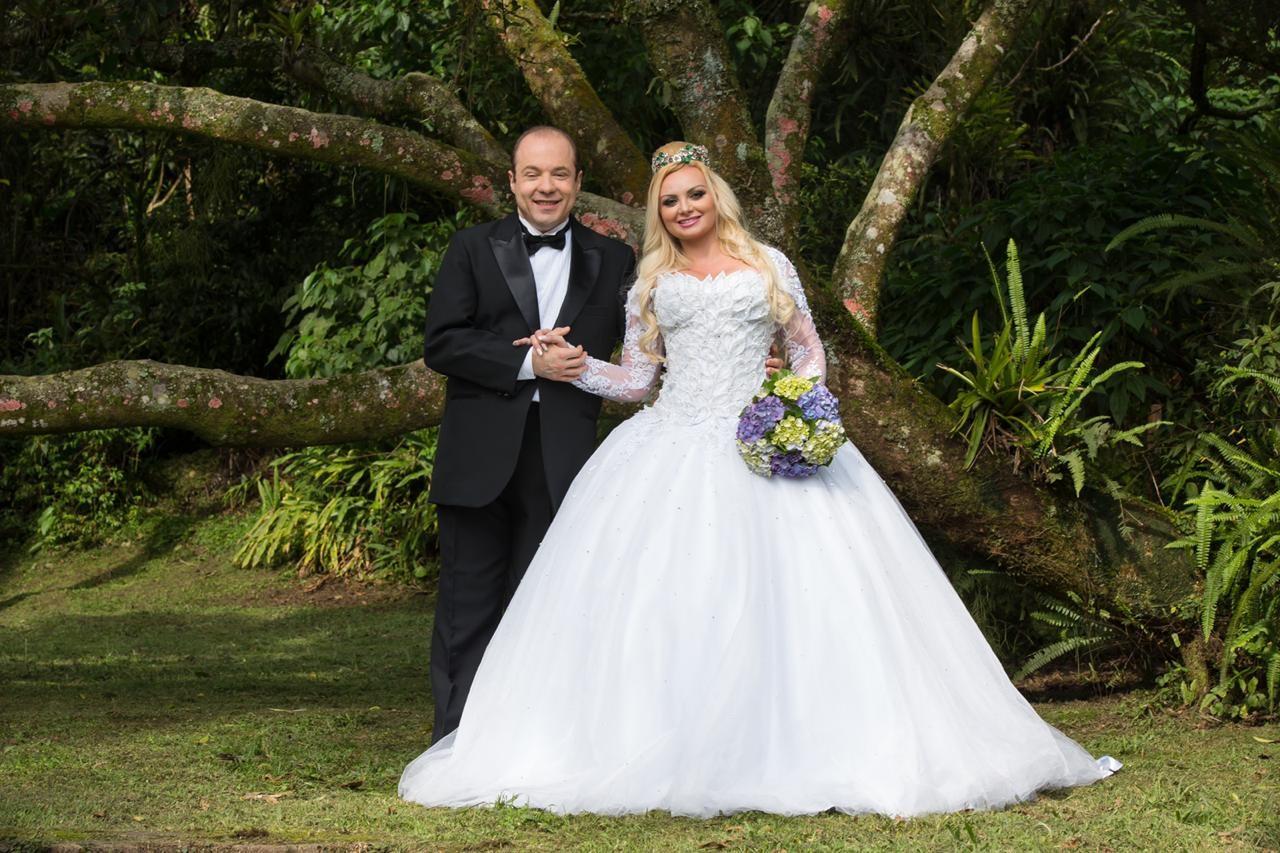 O casamento de Suelem e Jamil Cury (Foto: Arquivo pessoal)
