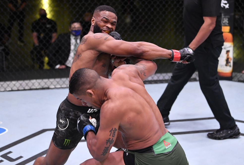 Gilbert Durinho Tyron Woodley UFC — Foto: Getty Images