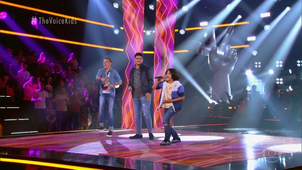 Gusttavo Salles, Pablo Paludo e Welcson Viegas cantam 'A Hora é Agora'