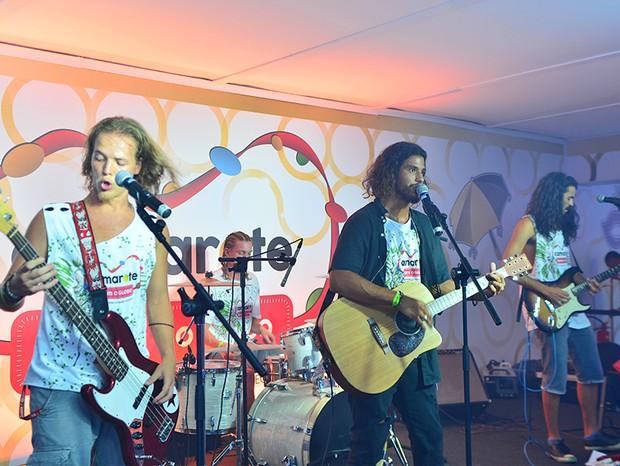 Banda Fuze (Foto: Marcia Maria Tavares/ Ed. Globo)