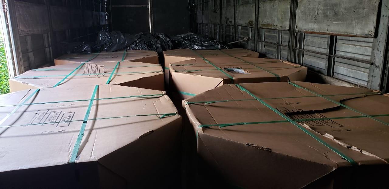 PC recupera cerca de cinco toneladas de materiais usados na fabricação de álcool em gel