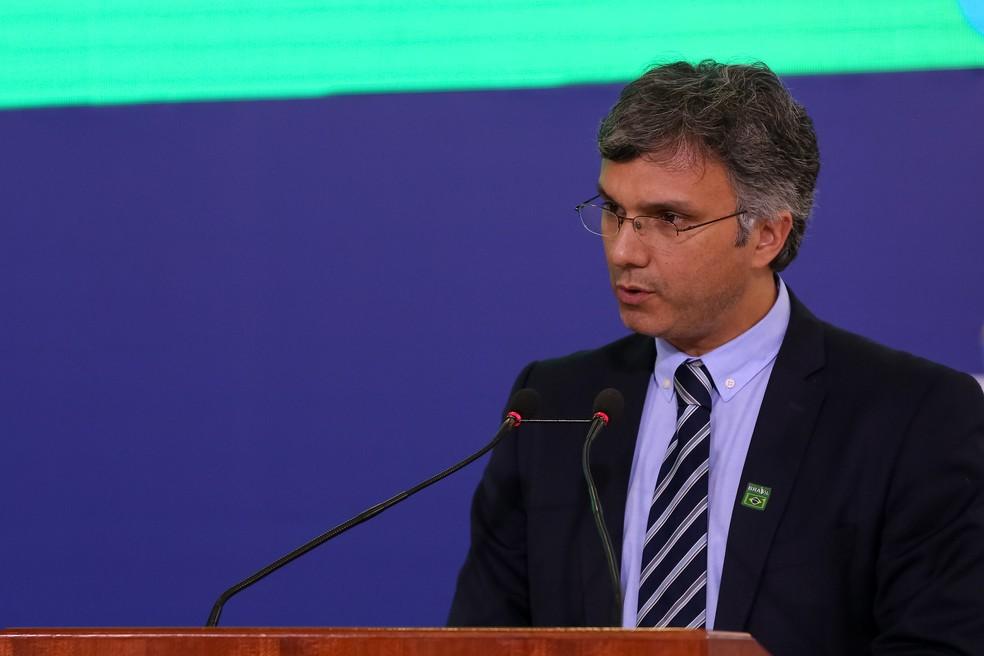 Esteves Colnago é quem comanda as conversas do Ministério da Economia com o Congresso Nacional — Foto: Marcos Corrêa/PR
