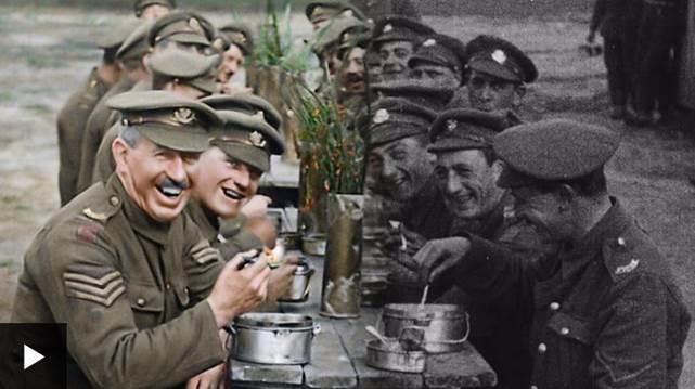 Como diretor vencedor do Oscar deu cor a emocionantes imagens da 1ª Guerra (Foto: BBC News Brasil)