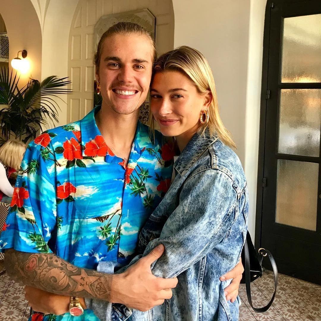 Justin Bieber e Hailey Baldwin (Foto: Reprodução Instagram)