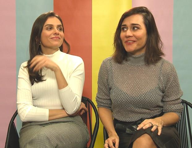 Monica Iozzi e Alessandra Negrini (Foto: Divulgação)