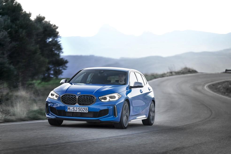 BMW Série 1 — Foto: Divulgação