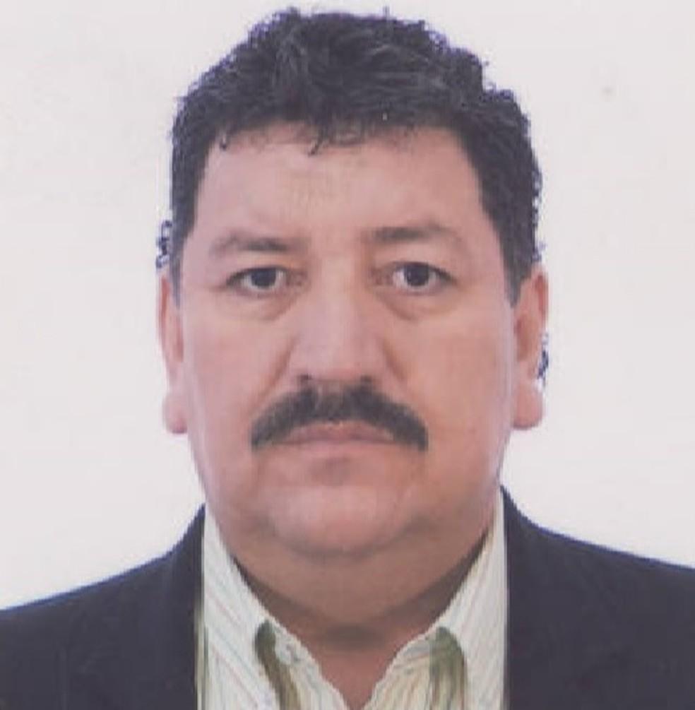 Guillermo foi encontrado pela PF com cabelos e barba brancos, em Fortaleza — Foto: Reprodução