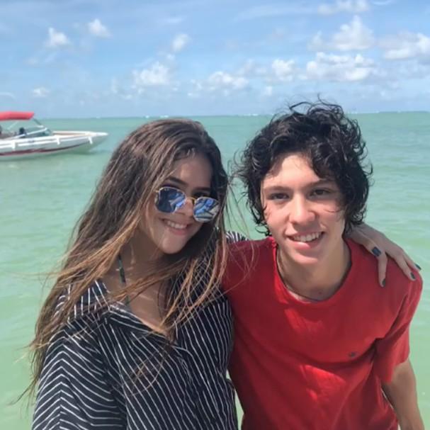 Maisa em Maragogi, Alagoas (Foto: Reprodução)
