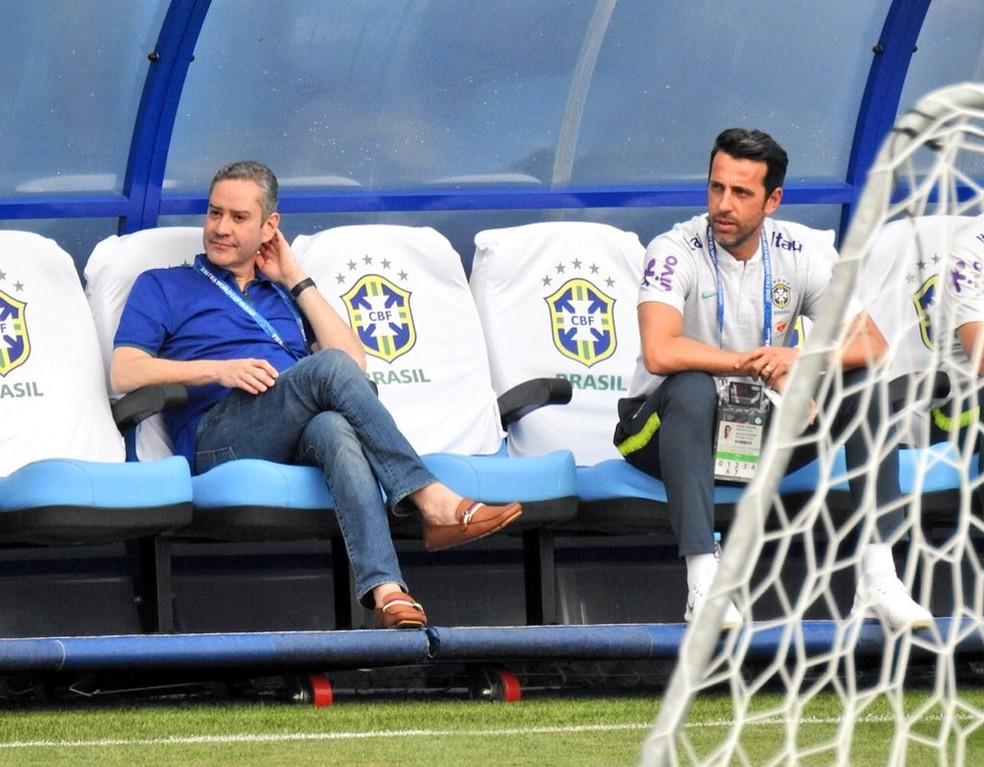 """Rogério Caboclo diz que """"não há hipótese de os clubes brasileiros participarem desse torneio"""" — Foto: Tossiro Neto"""