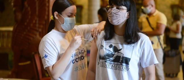 Vacinação de jovens no Brasil