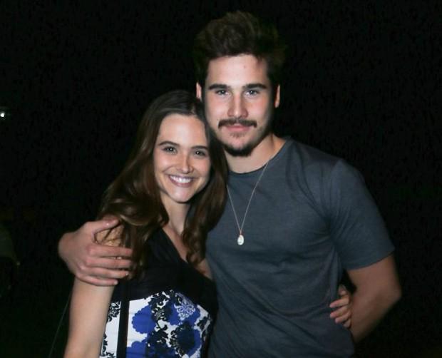 Juliana Paiva e Nicolas Prattes (Foto: Daniel Pinheiro/AgNews)