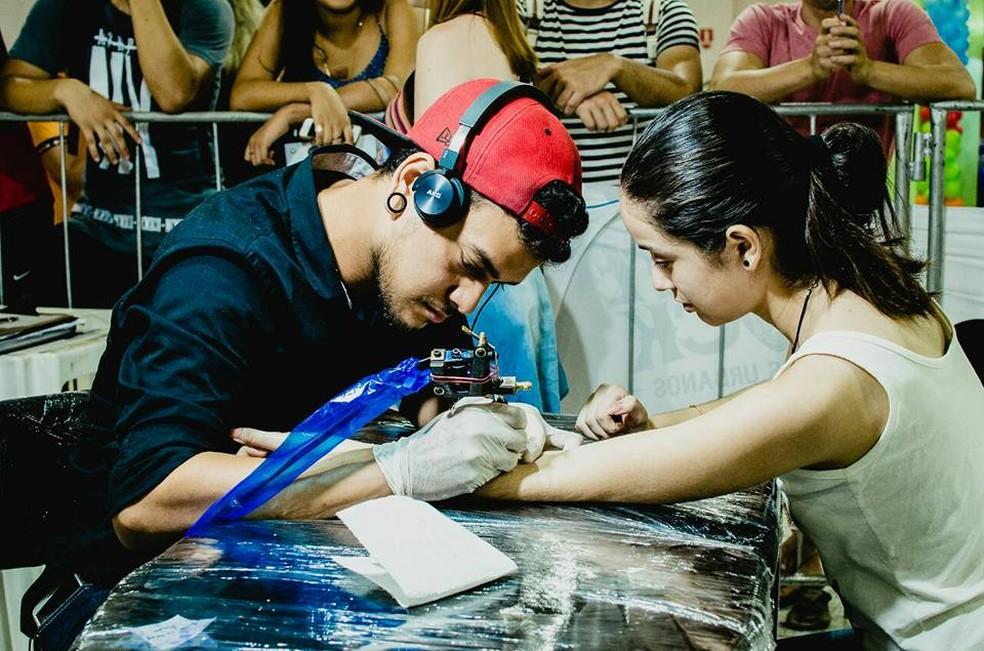 -  Tattoo Solidário vai reunir 11 profissionais, em shopping de Macapá  Foto: Reprodução/Facebook