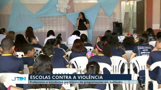 Escolas promovem ações entre alunos e professores para combater o bullying em Santarém