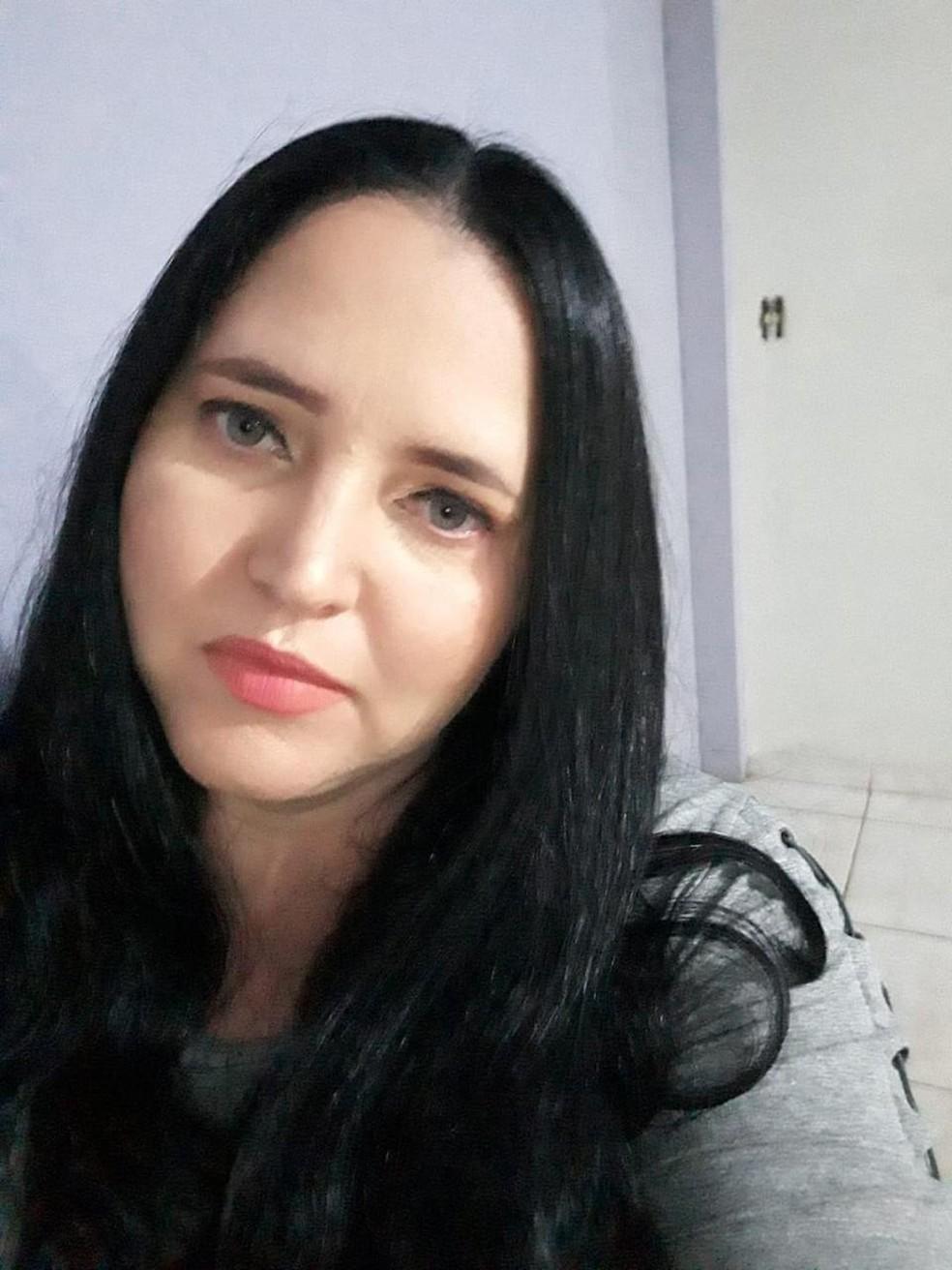 Silvana Nardes, de 43 anos, morreu de Covid-19 — Foto: Arquivo pessoal