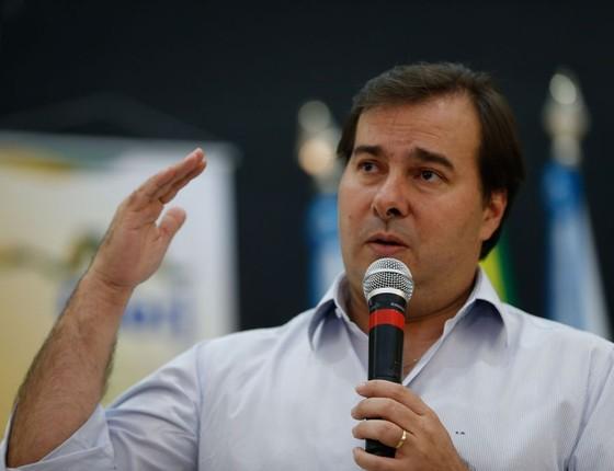 O deputado Rodrigo Maia (Foto: Tânia Rêgo/Agência Brasil)
