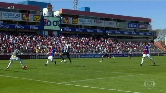 Botafogo segura vitória até o final, mas cede o empate para o Paraná