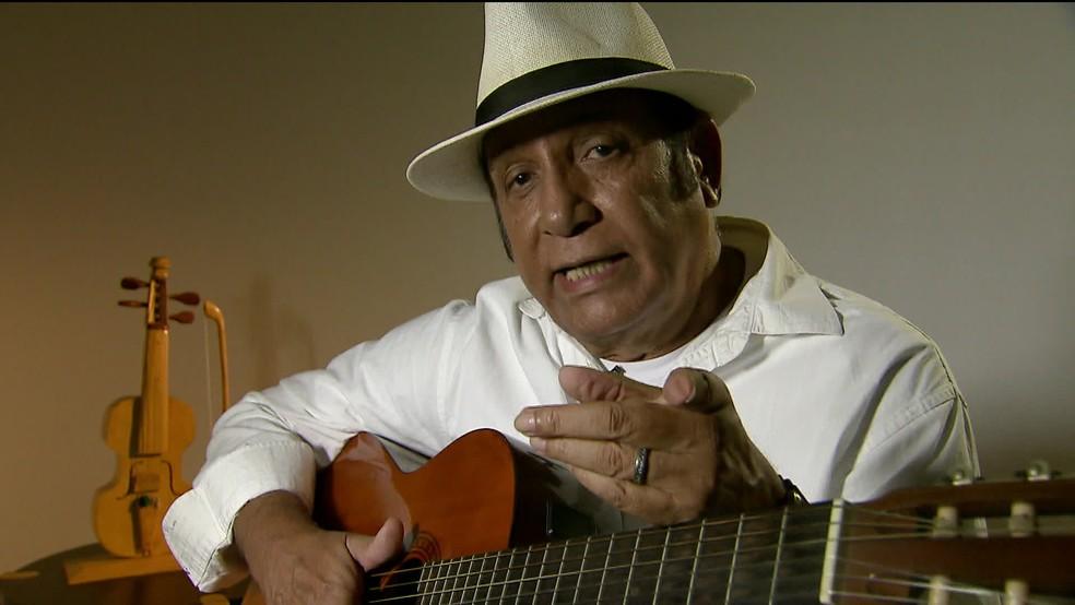 """Leonardo Sullivan foi o primeiro cantor a gravar """"Evidências"""" — Foto: GloboNews"""
