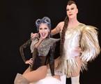 Xuxa e Ikaro Kadoshi em 'Caravana das drags'   Divulgação