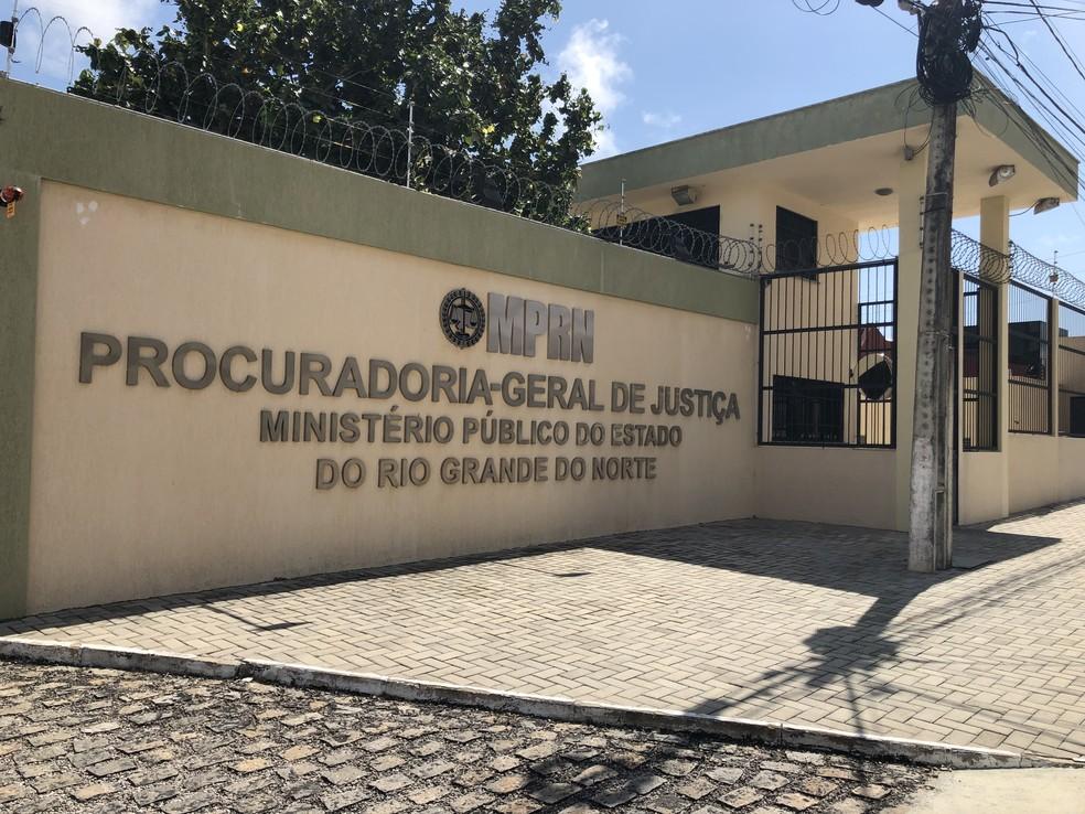 Ministério Público do Rio Grande do Norte (MPRN); sede da procuradoria-geral do RN — Foto: MPRN/Divulgação