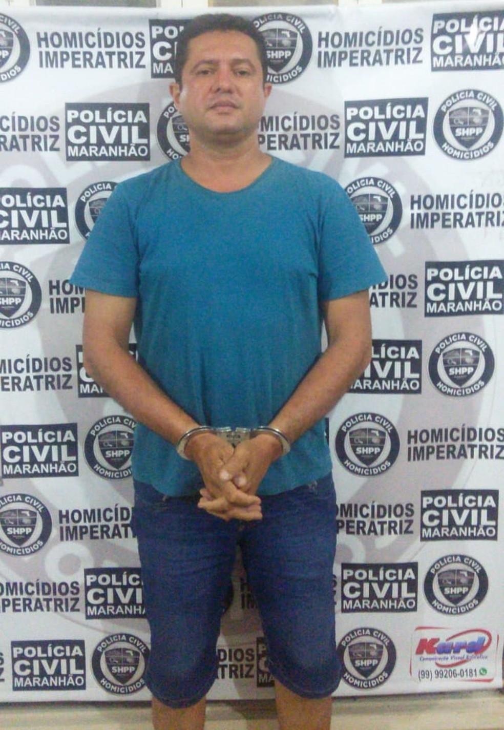 Zandonai Barbosa Oliveira é suspeito de ter participado da morte do PM Joselito Fernandes Marinho em Imperatriz — Foto: Divulgação/Polícia