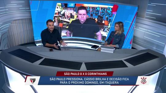 Loffredo destaca que futebol do Corinthians não o credencia como campeão do Paulistão