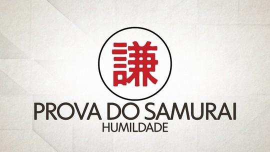 Prova do Samurai: humildade dos atletas é testada com exercício de 100 quedas