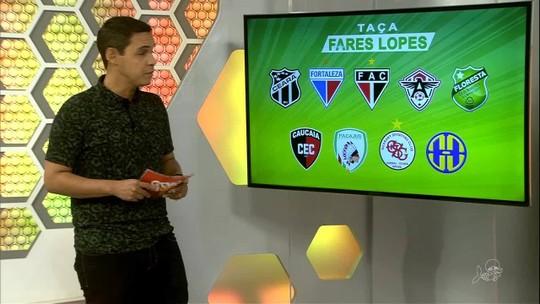 Com Fortaleza e Ceará, Taça Fares Lopes tem início neste domingo