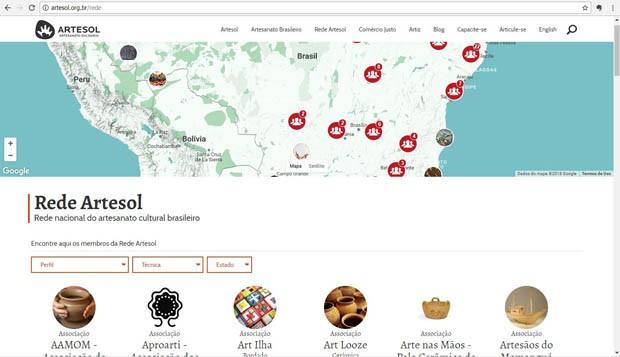 Portal Rede Artesol 2 (Foto: Reprodução)